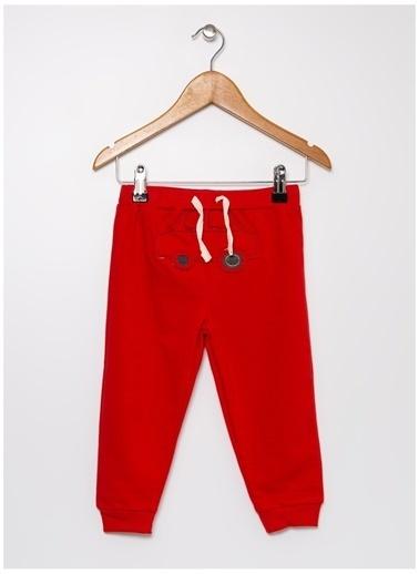 Mammaramma Mammaramma Nakışlı Kırmızı Bebek Sweatpant Kırmızı